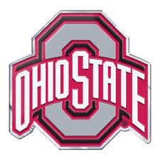 Auto Parts And Vehicles Ohio State Buckeyes Emblem Sticker Raised 3d Metal Auto Emblem Other Car Truck Decals Stickers