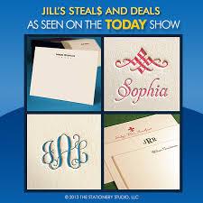 jill s steals and deals studio notes