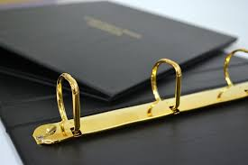 bespoke ring binders london print