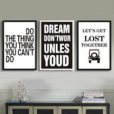 Colorful Quotes Inspirational Art Posters Modern Canvas Wall Art Prints Nordicwallart Com