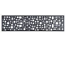 Matrix 2410 X 600mm Charcoal Mosaic Fence Extension Bunnings Warehouse