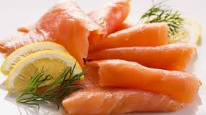 Image result for BLACK WOMAN EATING SALMON