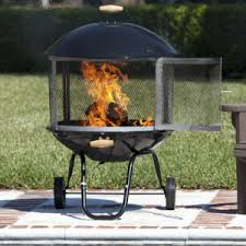 best fire pits with wheels for easier