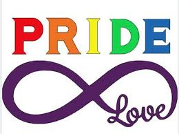 Pride Vinyl Decal Lgbt Car Sticker Lgbtq Infinity Love Circle Etsy