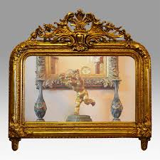 a french louis philippe mirror