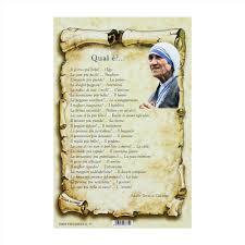 Preghiere di Madre Teresa di Calcutta