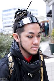 anese cyber goth punk street style