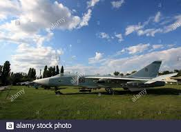 Exterior View Of A Sukhoi Su 24 Fencer Supersonic All Weather Attack And Bomber Aircraft At The Zhulyany State Aviation Museum Of Ukraine Stock Photo Alamy