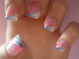 cute nail designs for white tips 2 1