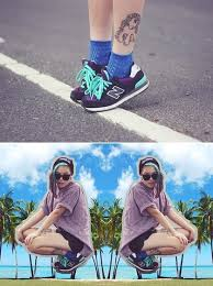 Ivy Robinson - New Balance Trainers, Thrifted Shirt, Ebay Shorts ...