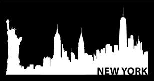 New York Skyline Vinyl Decal Car Window Laptop Ny City Sticker Kandy Vinyl Shop