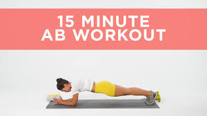 this 15 minute ab workout will fire up