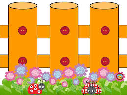 Fence Clipart Border Colorful Fence Border Clipart