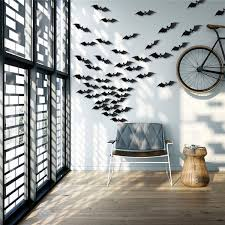 12pcs 3d Bat Sticker Glossy Cool Wall Decals Decorative Home Room Window Tree Light Decor Alexnld Com