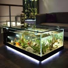 china feature furniture glass fish tank