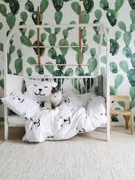 Cactus Decor Kid Room Decor Kids Room Inspiration Toddler Bed Set