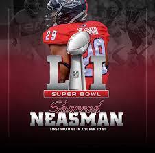 BELIEVE: Sharrod Neasman from the Loading Docks to Super Bowl LI - Florida  Atlantic University Athletics