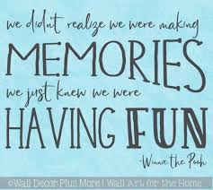 Kids Wall Decor Decal Making Memories Having Fun Playroom Sticker