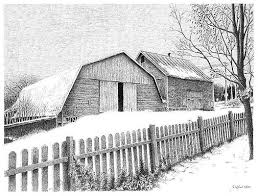 Snow Fence Drawings Fine Art America
