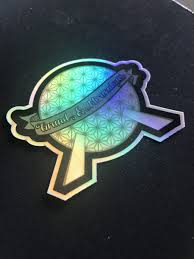 Grand And Miraculous Epcot Inspired Holographic Sticker Kelly Design Company