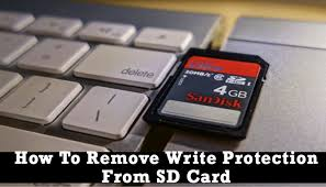 format write protected sd card