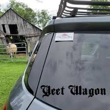 Yeet Sticker Meme Car Decal Meme Bumper Sticker Yeet Decal Etsy
