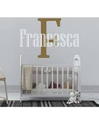 Find The Best Deals On Girl S Custom Name And Initial Wall Decal Choose Your Own Name Initial And Letter Styles Multiple Sizes Baby Wall Stickers For Girls Custom Name Initial Vinyl