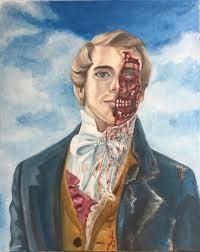 I told my friend I wanted a zombie Joseph Smith painting and she delivered.  : exmormon