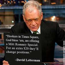 hookers in time square david letterman live by quotes