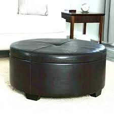 leather ottomans for grey ottoman