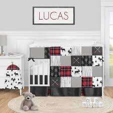 girls 4pc crib bedding set