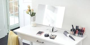 magnifying mirrors with lights bathroom