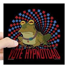 Cafepress Futurama Vote Hypnotoad Square Sticker 3 X 3 Square Sticker 3 X 3 Walmart Com Walmart Com
