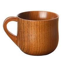 cup creative wooden coffee mug