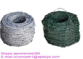 Q195 High Tensile Barbed Wire Double Strand Barbed Wire For Security Fence
