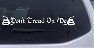 Gadsden Dont Tread On Me Windshield Car Truck Window Decal Sticker 14x1 9 Ebay