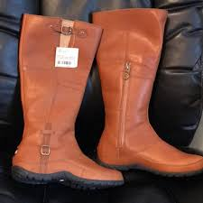 north face womens leather boots
