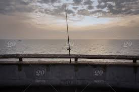 venice beack wooden r fishing rod