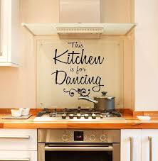 This Kitchen Is For Dancing Vinyl Wall Decal Words Modern Etsy Kitchen Wall Decals Dance Wall Decal Wall Sticker Inspiration