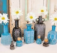 spray paint glass bottles and decanters