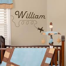 New Arrival Wall Decal Personalized Name Aircrafts Plane Sticker Baby Boy Nursery Decor Modern Decoration In The Living Room New View Wall Decor Decor Decorationdecorate Modern Living Room Aliexpress