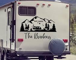 Camper Decal Etsy