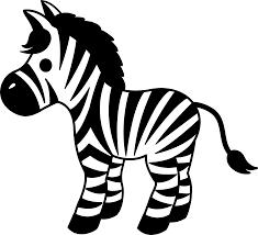 Cute Striped Zebra Clipart - Free Clip Art | Zebra clipart, Zebra cartoon,  Zebra drawing
