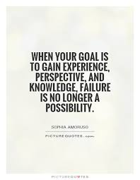 quotes about gaining experience quotes