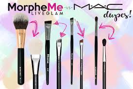 mac vs morpheme april brush dupes