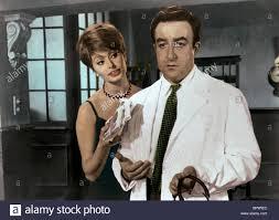 SOPHIA LOREN, PETER SELLERS, THE MILLIONAIRESS, 1960 Stock Photo ...