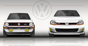 Image result for compare size of old vw golf