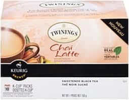 chai latte tea k cup pods