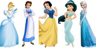 Were the Disney princesses' dresses inspired by the Virgin Mary?