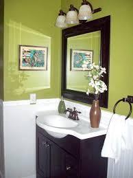 lime green bathroom decor vanity